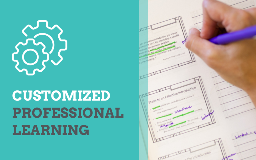Customized Professional Learning