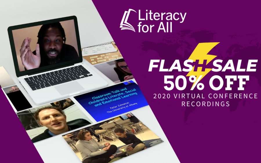 Literacy for All Virtual Conference Recordings - Flash Sale 50% Off