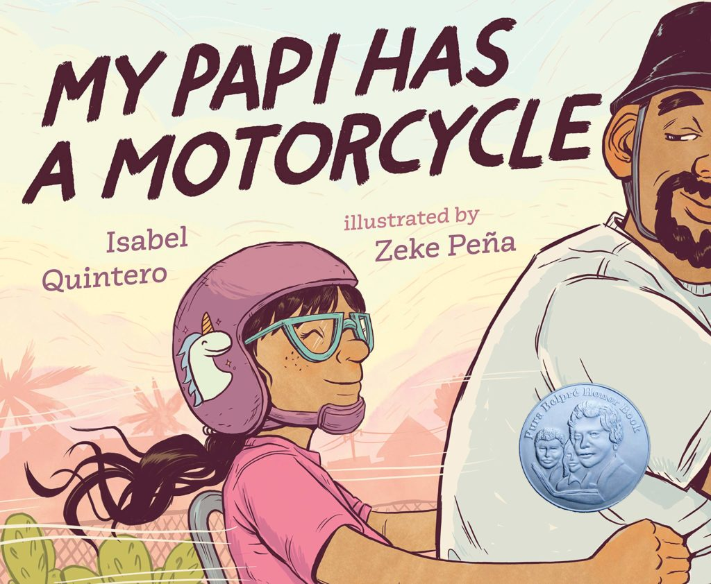 Book Cover: My Papi Has a Motorcycle