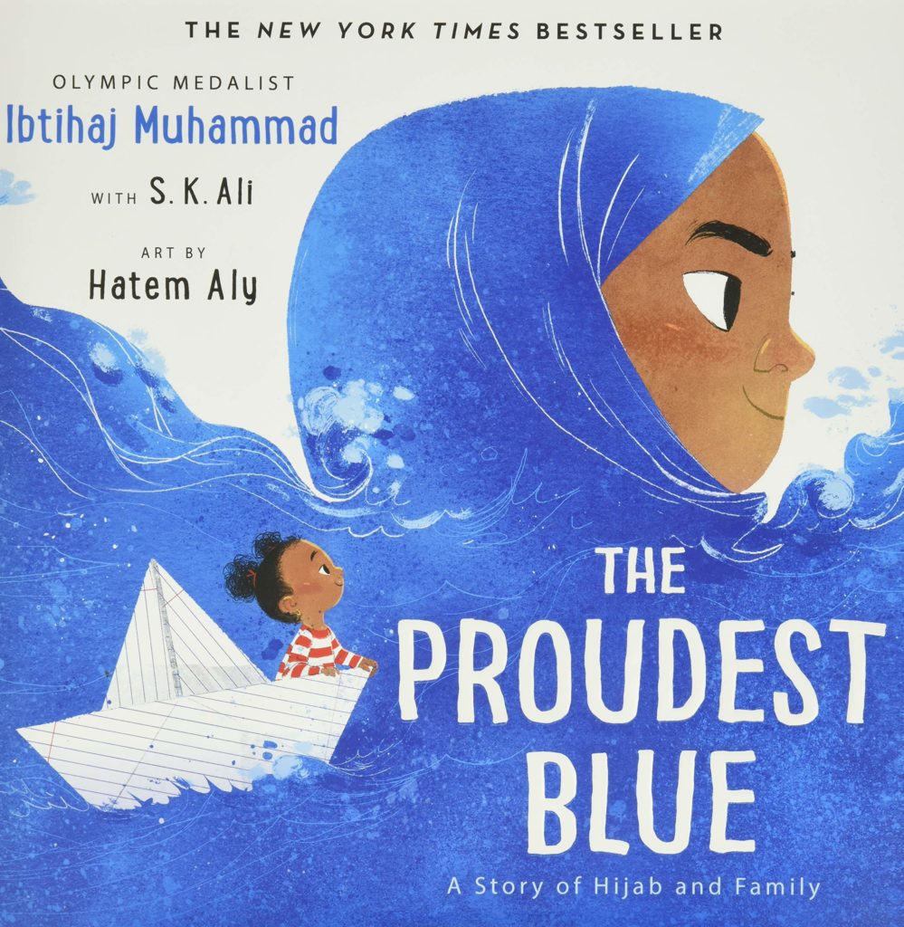 Book Cover: The Proudest Blue